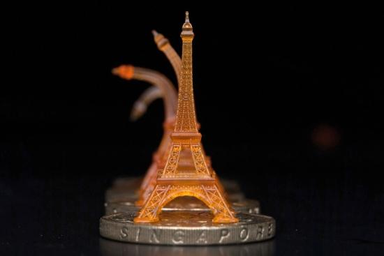 3D модель Эйфелевой башни